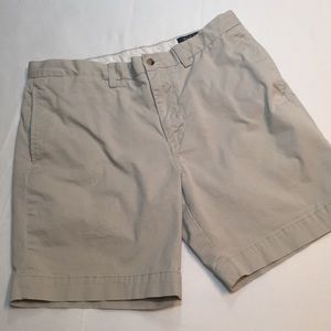 POLO RALPH LAUREN CLASSIC FIT KHAKI SHORTS